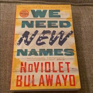 We Need New Names book